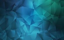 Light Blue, Green Vector Low P...