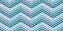 Blue Zigzag Seamless Pattern. ...
