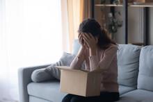 Unhappy Millennial Girl Client...