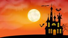 Happy Halloween Holiday Backgr...
