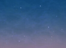 Night Black Sky With Stars, 3d...
