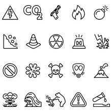 Warning Signs Collection. Stoc...