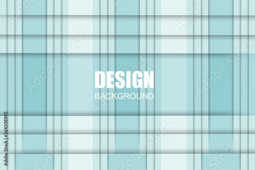 Blue tartan gradient background. Vector