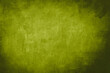 canvas print picture - green grungy background with canvas texture