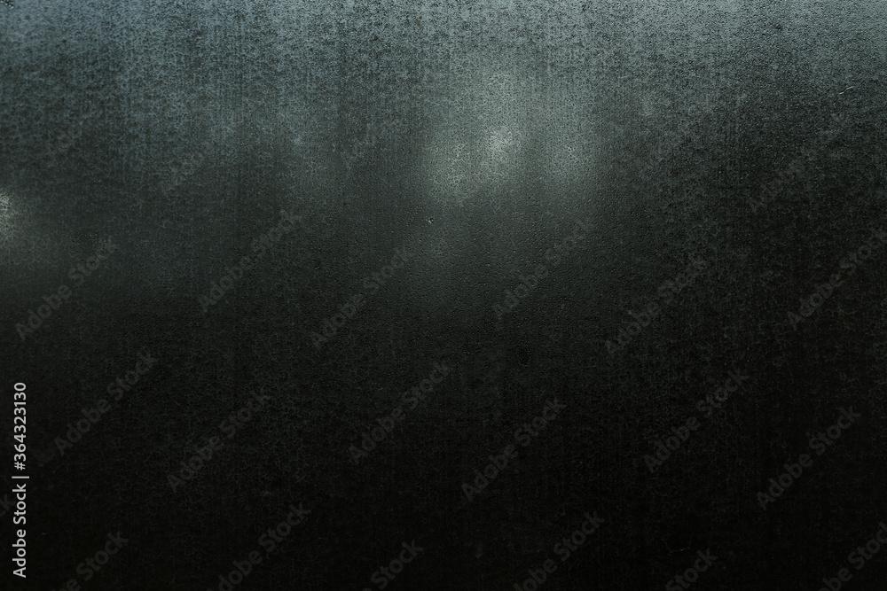 Fototapeta blurry window, dark gray background