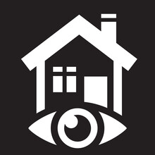 Home Monitoring, Surveillance System Icon