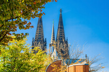 Two Huge Spires Of Cologne Cat...