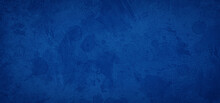 Old Blue Paper Background With...
