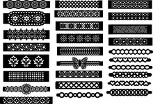 Patterned Bracelet Template Je...