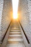 Fototapeta Kawa jest smaczna - Light at the end of the stairs