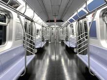 Empty Subway Seat In New York ...