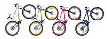 Bicycle Vector (side View)