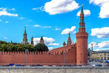 Towers Of The Moscow Kremlin A...