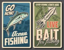 Fishing Retro Posters, Tuna Fi...