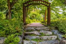 Stone Steps To Walkway