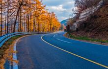 Three Lane Mountain Road
