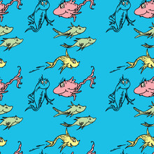 Dr. Seuss Inspired Fish Seamle...