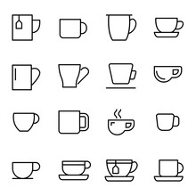 Vector Line Icons Collection O...