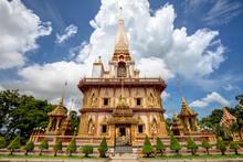 The Wat Chalong Temple, Phuket...