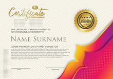 Certificate Template With Dyna...