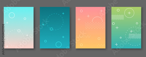 Foto Geometric pattern vector background