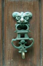 Rusty Style Door Knocker View....