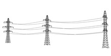 Electric Pylons Or Electric To...