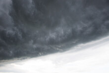 Stormy Dark Clouds Before The ...