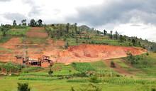 Quarry In Rural Rwanda, Creati...
