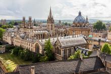 Oxford City Skyline With Radcl...