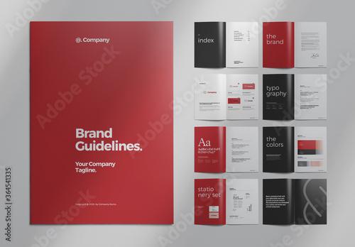 Brand Manual Layout