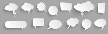 Sticker Speech Bubbles With Sh...