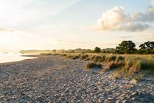 Morgens Am Strand  Mit Lensfla...