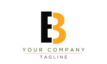 Letter EB Logo Design, Creativ...