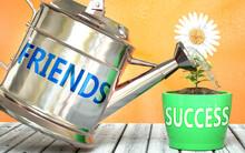 Friends Helps Achieving Succes...