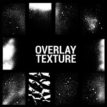 Texture Overlays Collection. A...