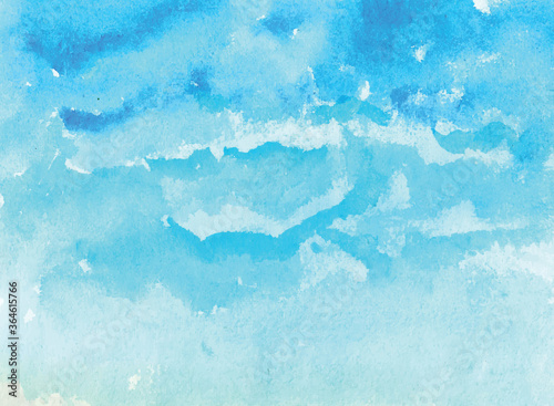 Fotografiet Abstract watercolor background for poster, banner, wallpaper, business card, fly