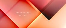 Square Shapes Composition, Flu...