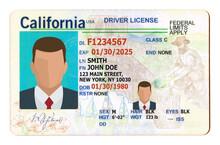 California Driver License Fill...