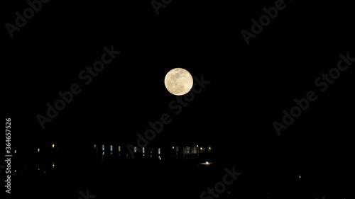 Fotografie, Tablou 月と海