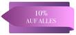 Leinwanddruck Bild - 10% auf Alles web Sticker Button