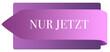 Leinwanddruck Bild - Nur Jetzt web Sticker Button