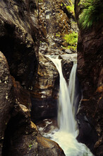 Small Waterfall From Between R...