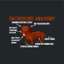 Weiner Dog Long Sleeve Design ...