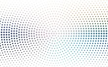 Light Blue, Green Vector  Background With Spots. Illustration With Set Of Shining Colorful Abstract Circles. Design For Poster, Banner Of Websites.