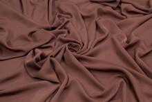 Fabric Satin Silk Purple.  Tex...