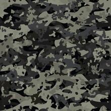 Camouflage Seamless Pattern Ba...