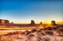 Monument Valley In Navajo Nati...