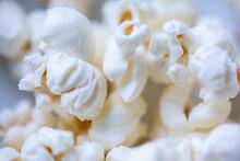 Popcorn Weiß Snack Gesund Kino