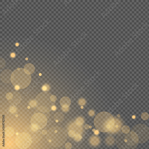 Abstract light effect Fototapet